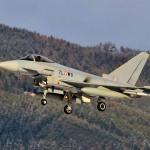 Eurofighter Typhoon 7L-WO bei der Landung © Maschin