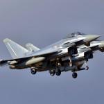 Eurofighter Rotte bei der Landung © Maschin