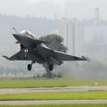 Die Syrien-Konferenz wurde auch auf französischer Seite bewacht. Hier ein Symbolbild von der Erprobung der Dassault Rafale in der Schweiz © VBS