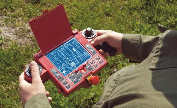 Fernsteuerung für das MV-4 © DOK-ING