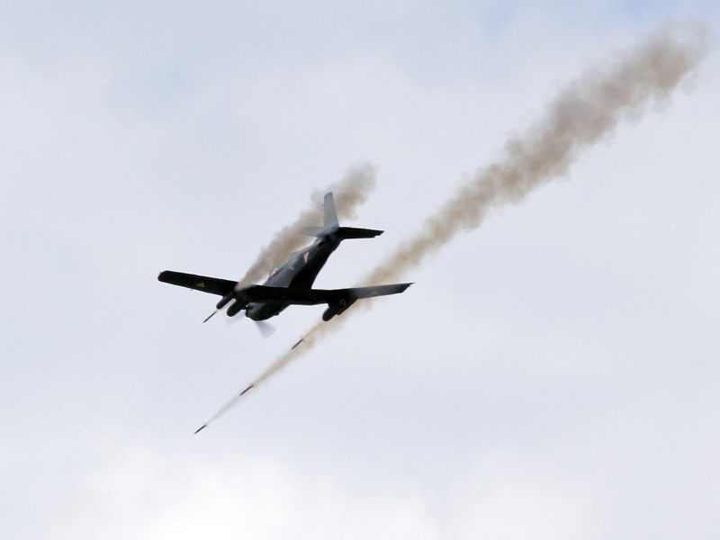 Archiv: Pilatus PC-7 feuert 70 mm Raketen ab © Bundesheer