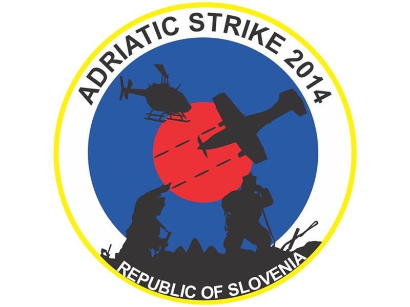 Logo der Übung ADRIATIC STRIKE 2014 © Slow. Streitkräfte