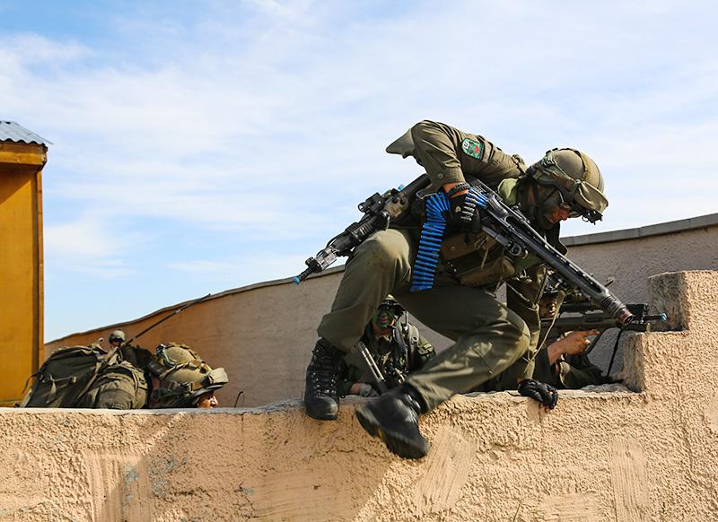 Das JgB25 im Häuserkampf © US Army JMTC