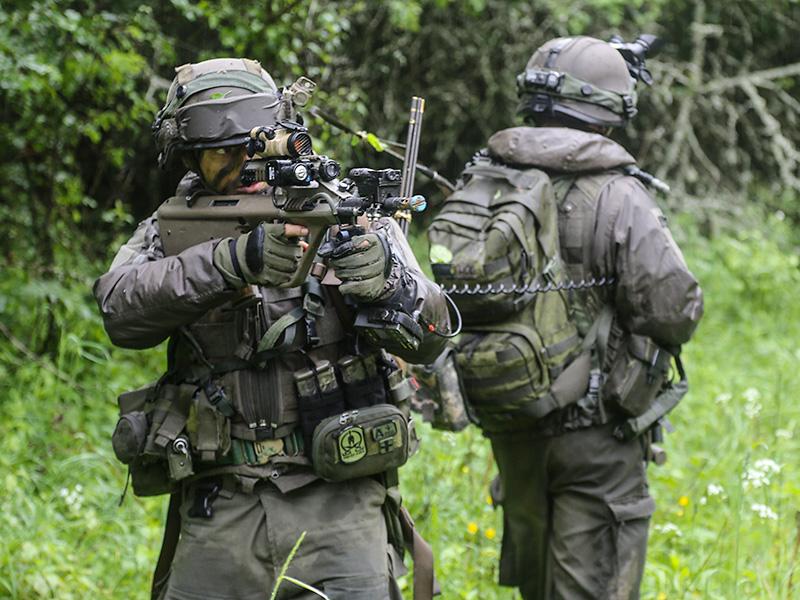 Soldaten des JgB25 © US Army JMTC