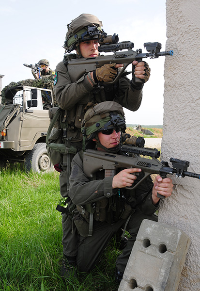 Soldaten des Jägerbataillons 25 © R. Zwilling – Tank-Masters.de