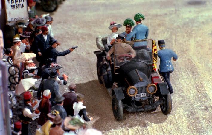 Das Diorama wurde für viele Jahre an diverse Museen verliehen.