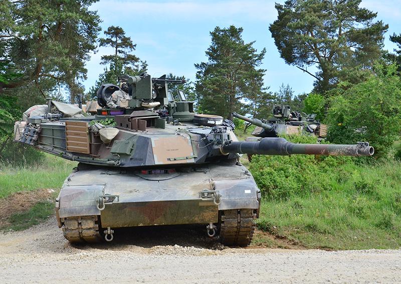 Kampfpanzer M1A2 SEPv2 Abrams © US Army JMTC