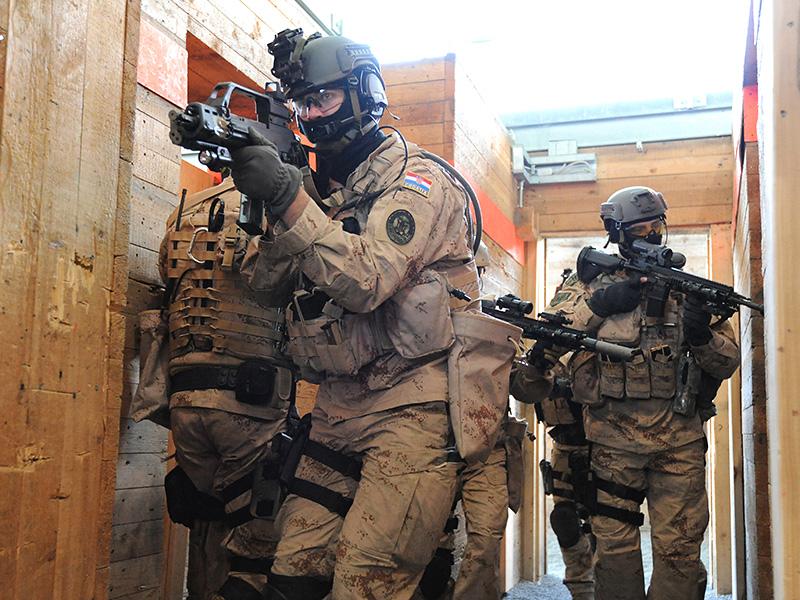 Kroatische Spezialeinsatzkräfte © US Army