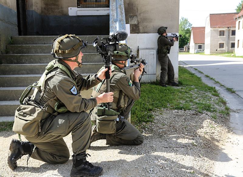 Österreichisches Combat Camera Team © US Army