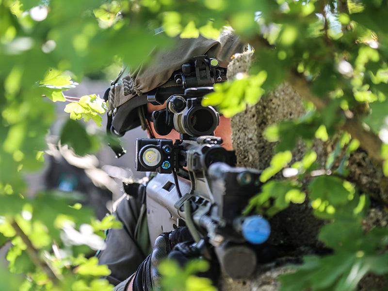 Österreichischer Soldat © US Army