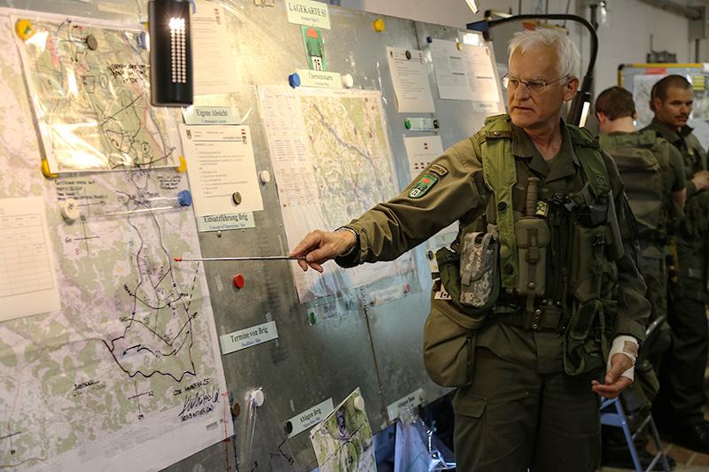 Kommandant des JgB25, Oberst Herbert Kraßnitzer © US Army JMTC