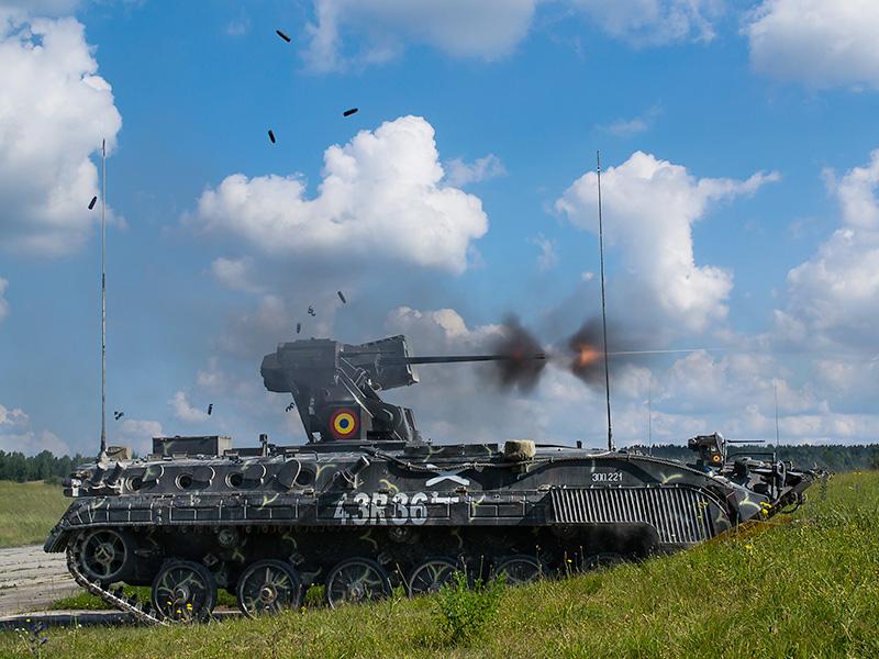 Rumänischer Schützenpanzer MLI-84M Jderul © US Army JMTC
