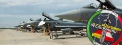Österreichische Eurofighter Typhoon auf Sardinien © Bundesheer