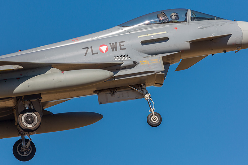 Close-Up von Eurofighter Typhoon 7L-WE © Onnis Gian Luca