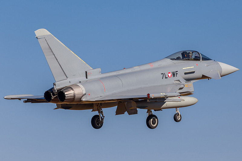 Eurofighter Typhoon 7L-WF © Onnis Gian Luca