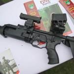 Granatwerfergewehr Madritsch / MWT Austria 40mm GrG LV mit Tag- und Nachtsichtvisier