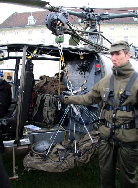 225 kg Seilwinde der Alouette III für Bergeeinsätze