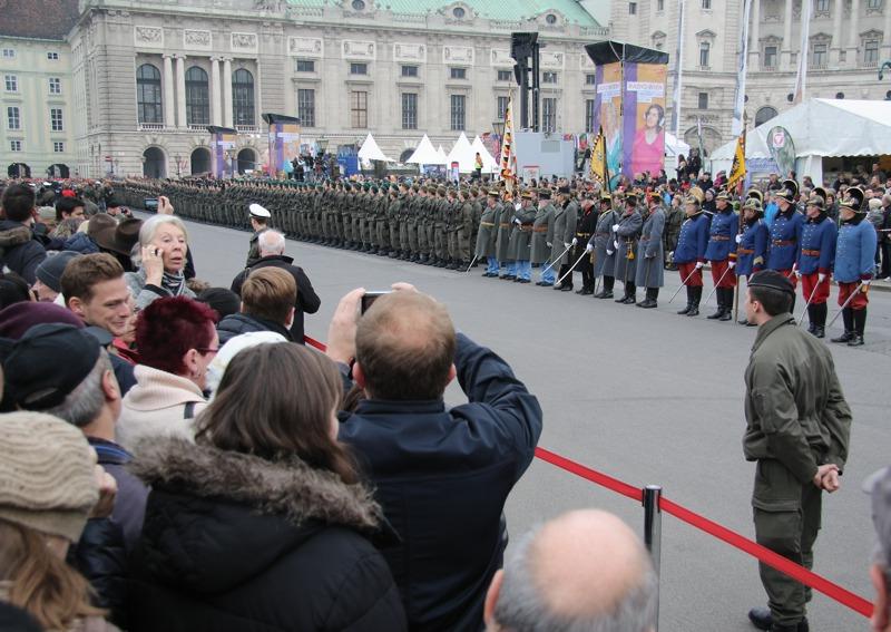 Angelobung von 900 Rekruten aus ganz Österreich
