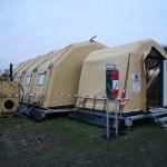 Das neue ABC geschützte Zeltsystem COLPRO (Collective Protection) des Pionierbataillons 2