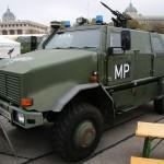 Allschutztransportfahrzeug ATF Dingo 2 der Militärpolizei