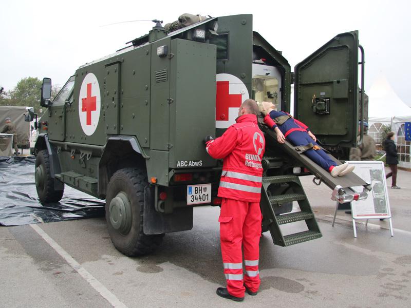 Dingo 2 Notfallfahrzeug (ATF NF)