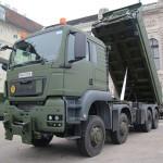 MAN TGS 41.480 8x8 Kipperfahrzeug mit Heckladekran 26 mt