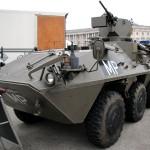 Radpanzer Pandur A1 6x6 der Militärpolizei