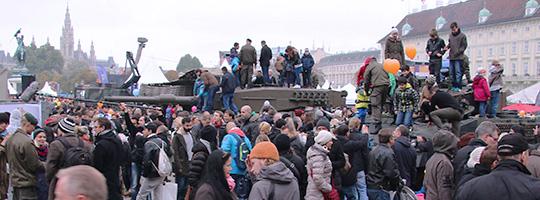 Nationalfeiertag 2014 - das Bundesheer am Heldenplatz © Doppeladler.com
