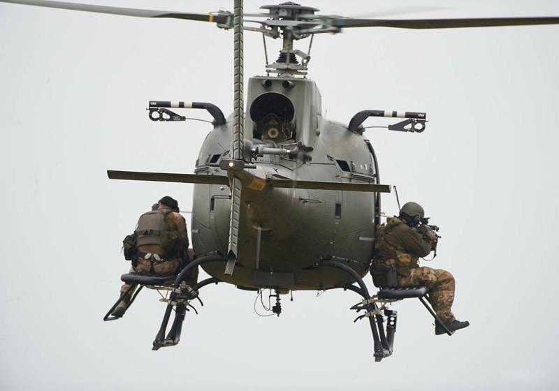 Dänischer Eurocopter AS550C2 Fennec © FLVFOT