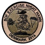 Patch der SOF Übung NIGHT HAWK 2014 © Internet