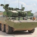 AMX10RC mit dem Prototyp des T40 Turms von Nexter © Nexter Systems