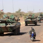 Der AMX10RC sorgt in Mali für Feuerschutz © AFP