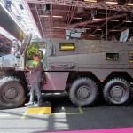 BMX01 auf der Rüstungsmesse Eurosatory 2014 © RTD