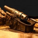Der 30,5 cm Mörder M.16 – Stellungsbau