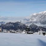 Mobile Radaranlage der Schweizer Armee über Pfäfers © Kecko