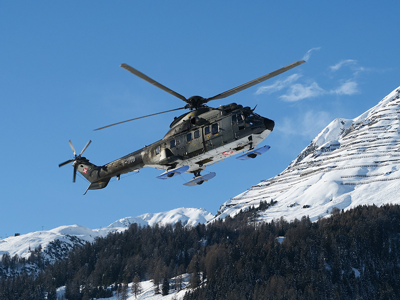 Schweizer AS332M1 Super Puma T-319 © Kecko