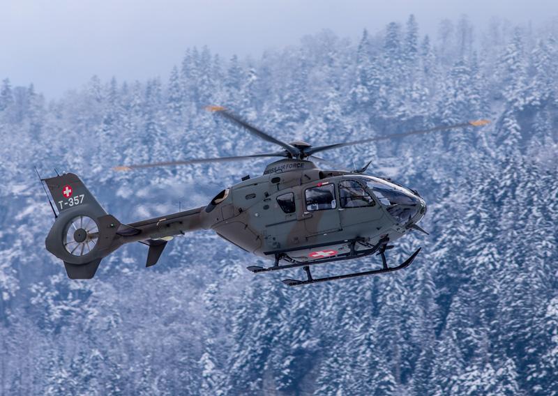 Heißer Kandidat auf die Alouette III und Kiowa Nachfolge: Eurocopter EC635 der Schweizer Luftwaffe © Ralf Maurer