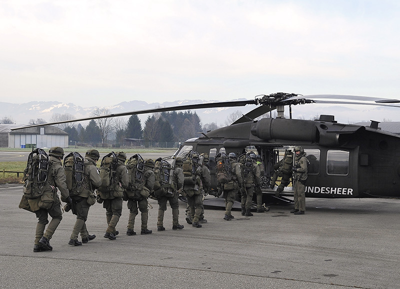 "Das ""Emergency Response Team Air"" (ERTA) © Bundesheer"