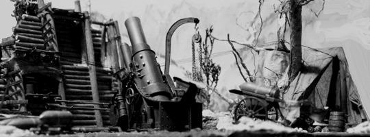 30,5 cm Mörser M.16 in Stellung © Doppeladler.com