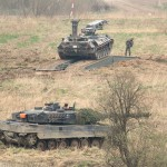 Der Biber testet seine Panzerschnellbrücke © Doppeladler.com