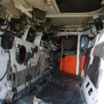 Enger Innenraum des Schützenpanzers BVP 2 © Doppeladler.com