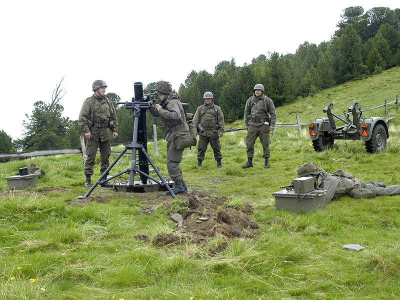 120 mm Granatwerfer des Jägerbataillons Kärnten © Bundesheer