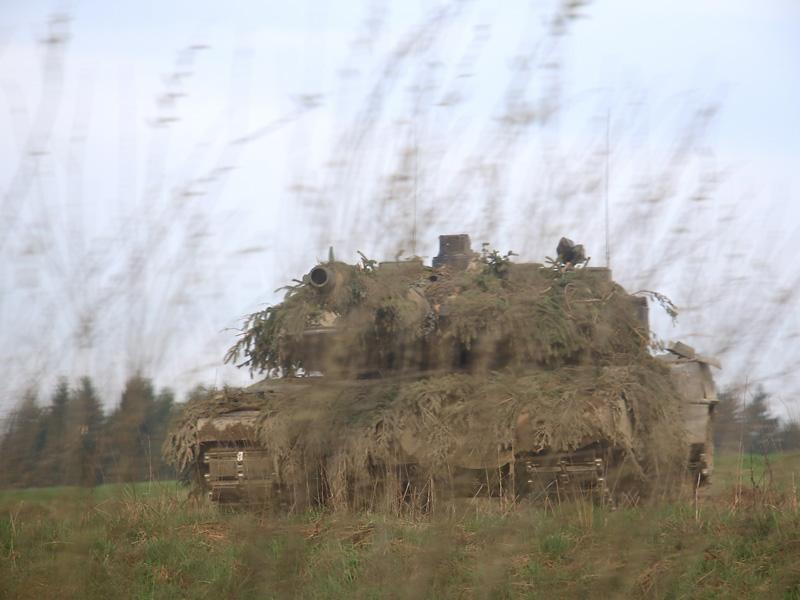 Kampfpanzer Leopard 2A6 © Doppeladler.com