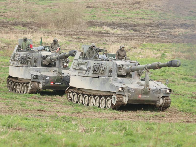 Panzerhaubitze M109 A5Ö © Doppeladler.com