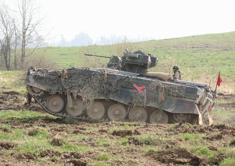 Deutscher Schützenpanzer Marder 1A3 © Doppeladler.com