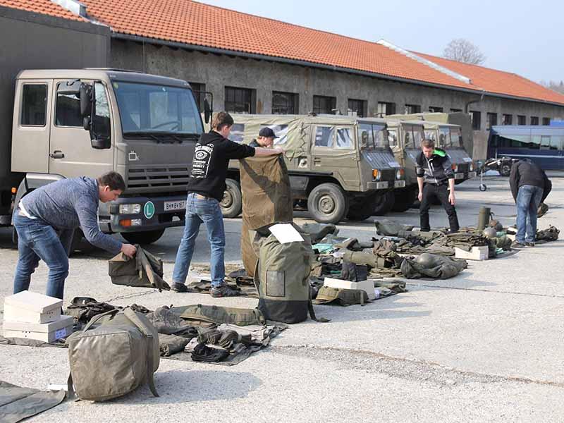 Miliz: Bürger in Uniform © Bundesheer