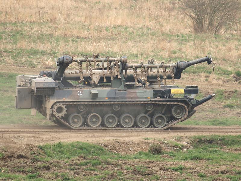 Minenräumpanzer Keiler auf M48 A2C Fahrgestell © Doppeladler.com