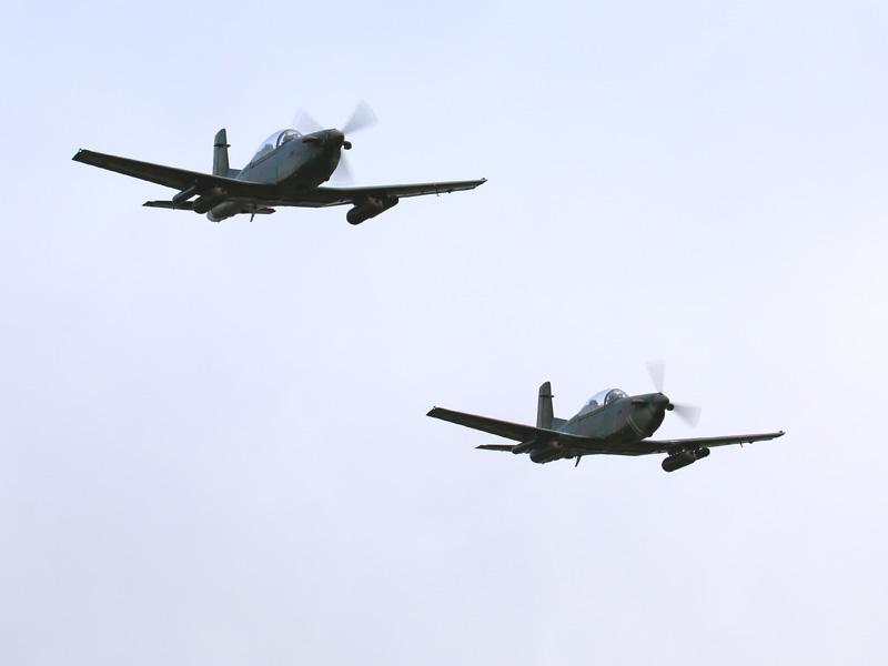 Bewaffnete Rotte Pilatus PC-7 © Doppeladler.com
