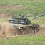 Der 48 t schwere Kampfpanzer T72 M4 CZ erreicht bis zu 61 km/h © Doppeladler.com