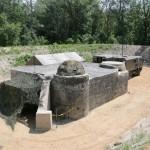 Wieder freigelegter Bunker am Wasserübungsplatz © Doppeladler.com